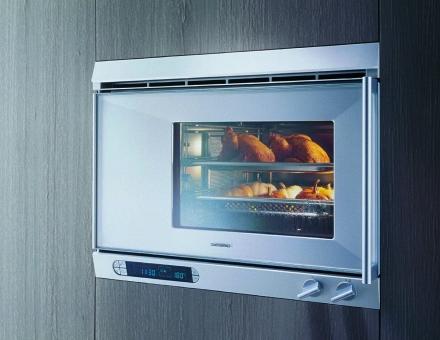 Küchenträume Bartelt Frankfurt kitchen Gaggenau kitchen appliances © Gaggenau