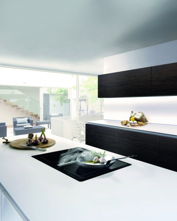 Küchenträume Bartelt Frankfurt kitchen Gutmann range hood © Gutmann