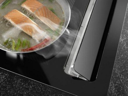 Küchenträume Bartelt Frankfurt kitchen Oranier range hood © Oranier